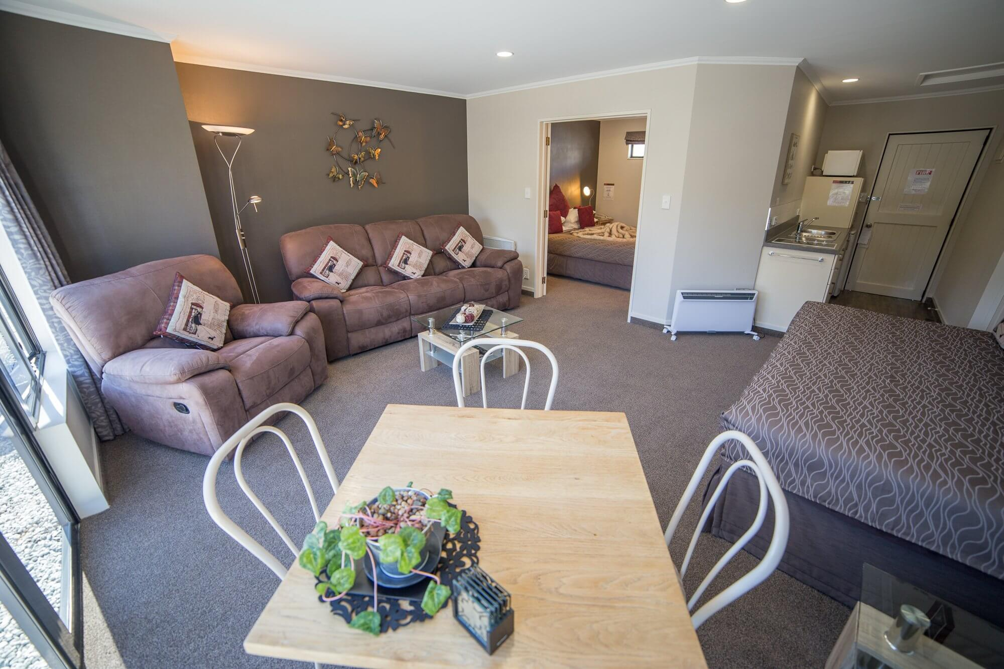 One Bedroom Unit at Lakefront Lodge Te Anau motel